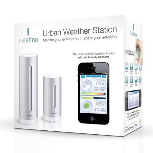 Urban Weather Station box